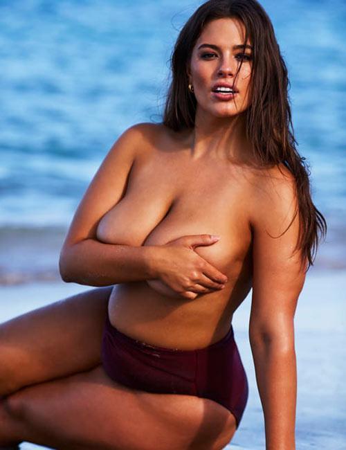 داغ ترین سکسی مدل سایز بزرگ جهان ASHLEY GRAHAM