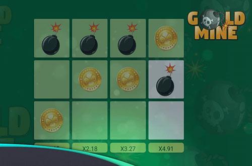 نسخه جدید بازی انفجار (گلدماین) GOLD MINE