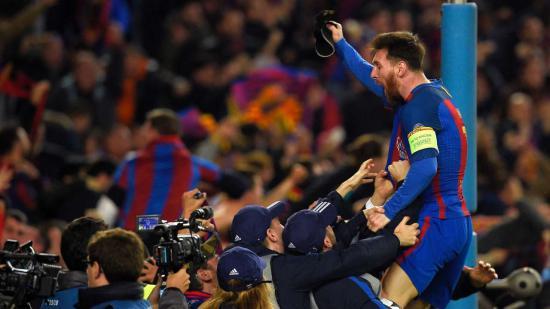 فرم پیش بینی بازی بارسلونا و پی اس جی