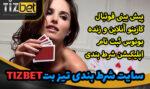 سایت تیز بت Tizbet سایت شرط بندی معتبر برای میلیونر شدن