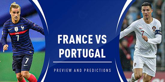 فرم پیش بینی بازی پرتغال و فرانسه یورو 2020