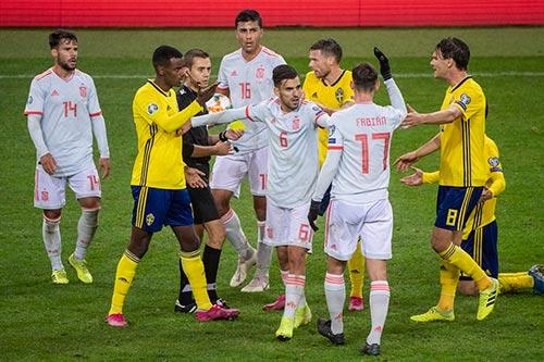 فرم پیش بینی بازی اسپانیا و سوئد یورو 2020