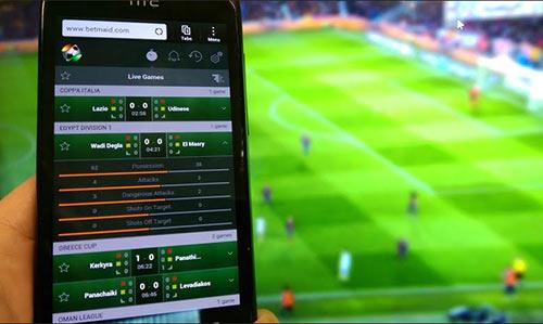 انواع اپلیکیشن شرط بندی فوتبال پولی و رایگان