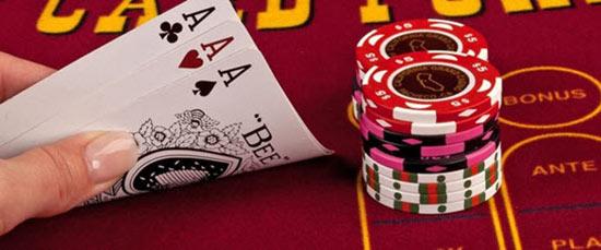 آموزش بازی پوکر 3 کارتی آنلاین در سایت شرط بندی