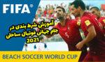 شرط بندی در جام جهانی فوتبال ساحلی 2021 با بونوس رایگان